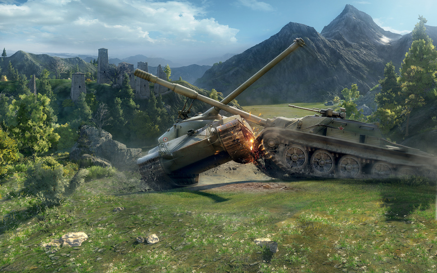 World Of Tanks Battle