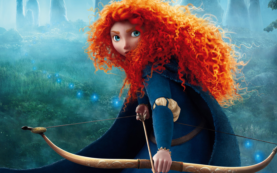 Braves Princess Merida
