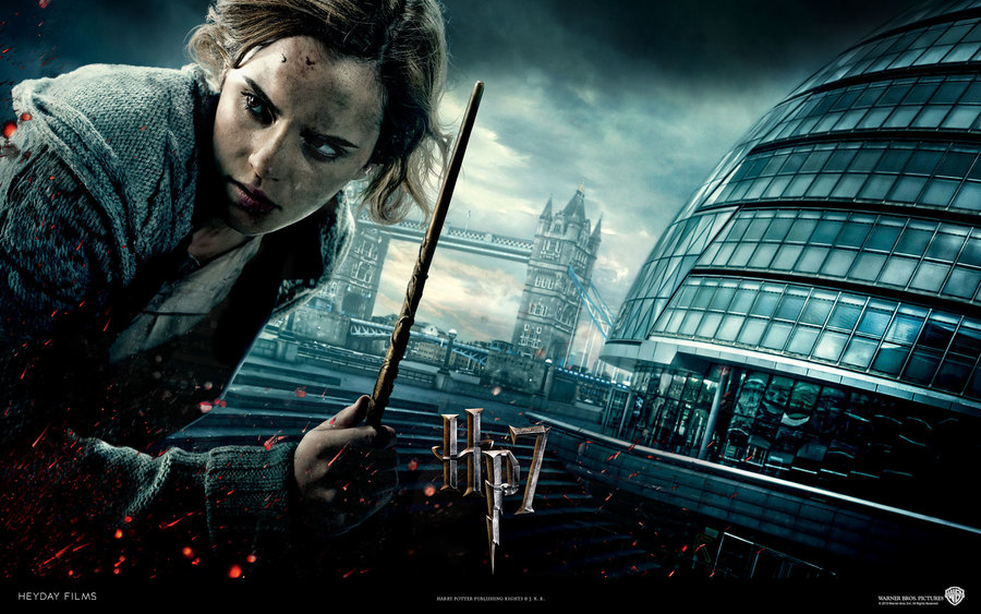Emma Watson In Deathly Hallows