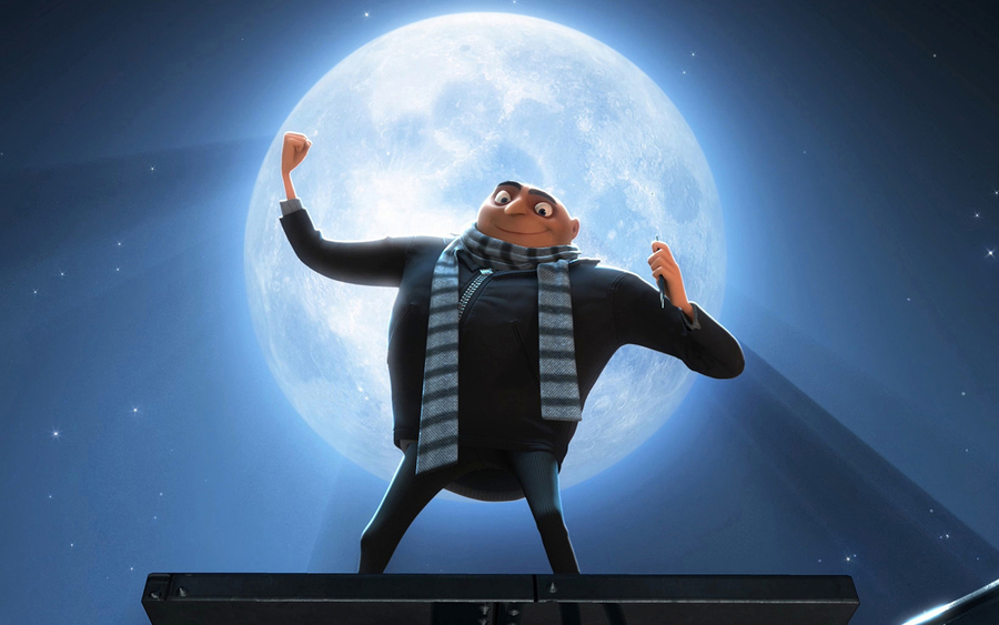 Gru In Dispicable Me