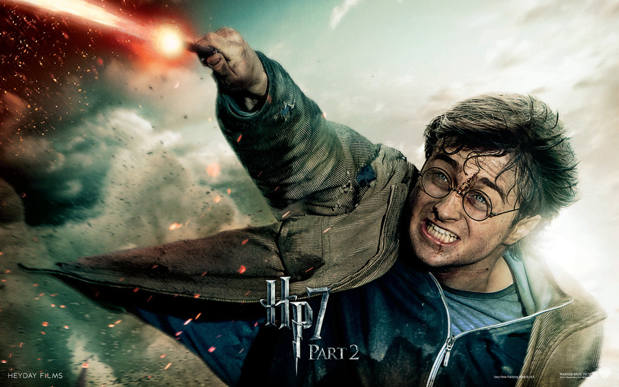 Harry Potter In Deathly Hallows Part