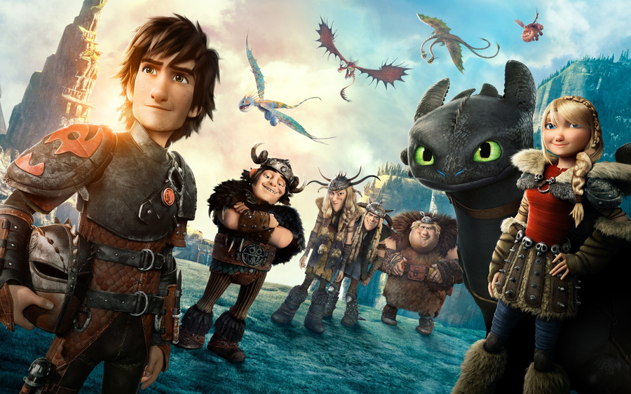 How To Train Your Dragon 2 Movie Wallpaper