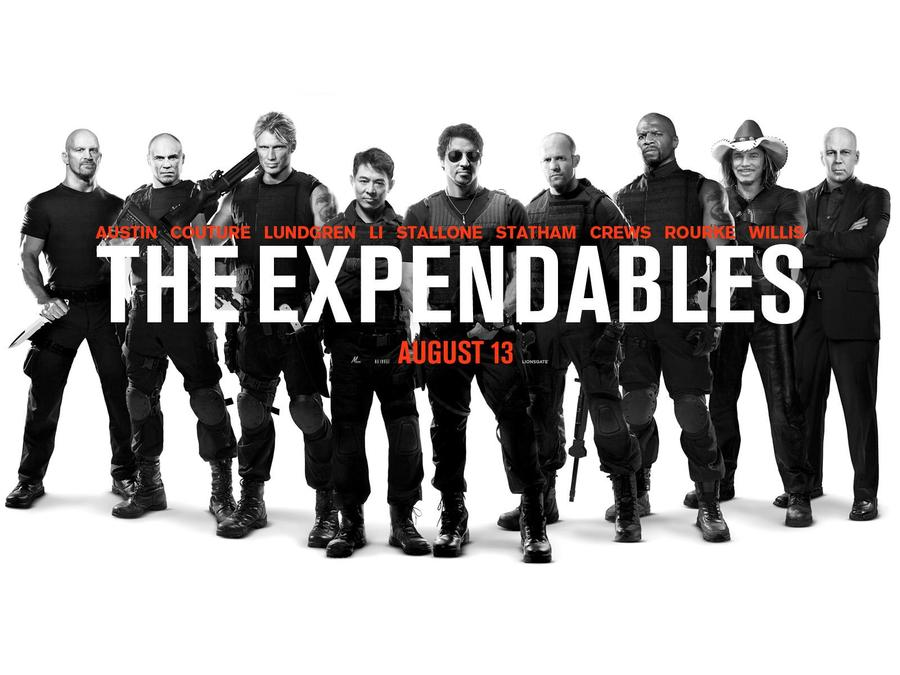 The Expendables 2010 Movie