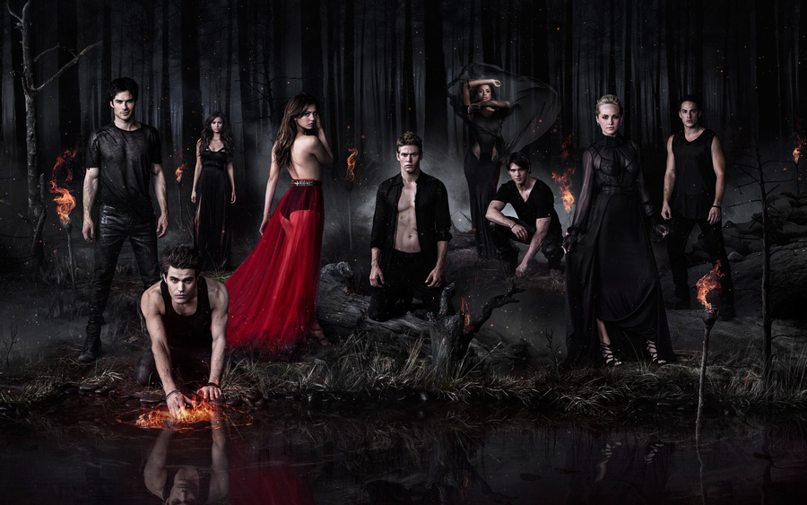 The Vampire Diaries Tv Series Wallpaper