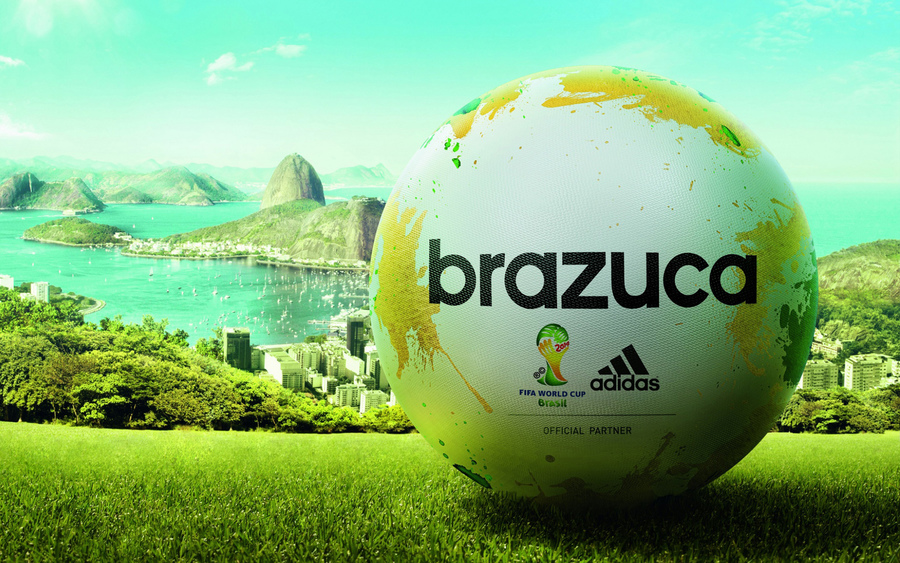 Adidas Brazuca Match Ball Fifa World Cup 2014