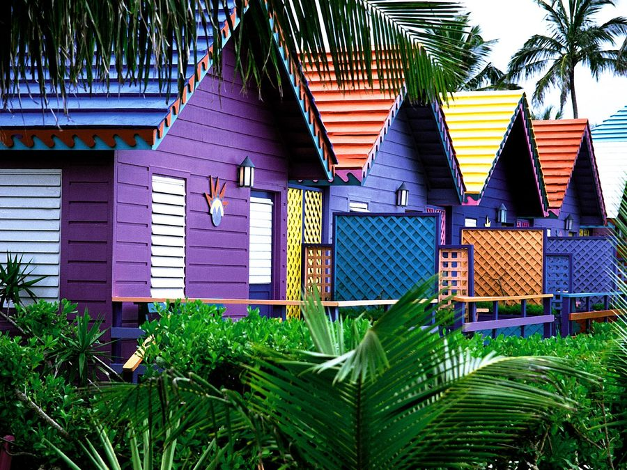 Colorful Houses Bahamas