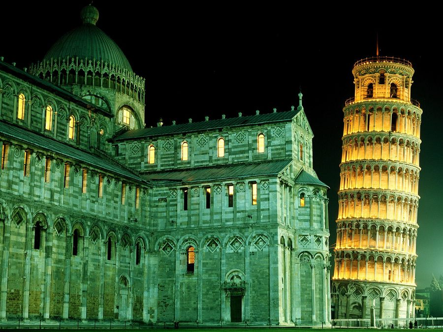 Duomo Leaning Tower Pisa Italy