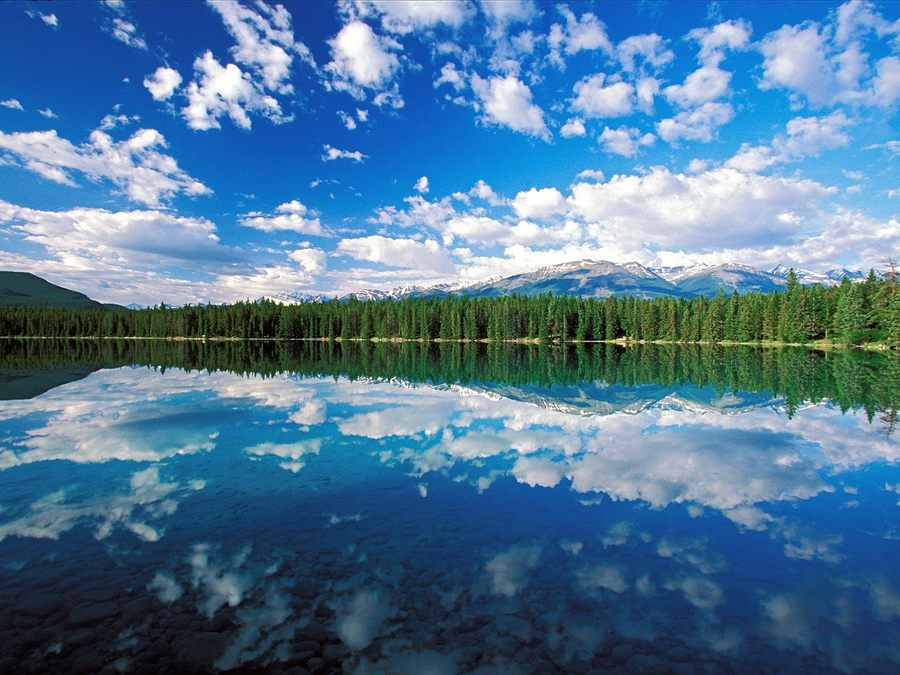 Edith Lake Jasper National Park Canada