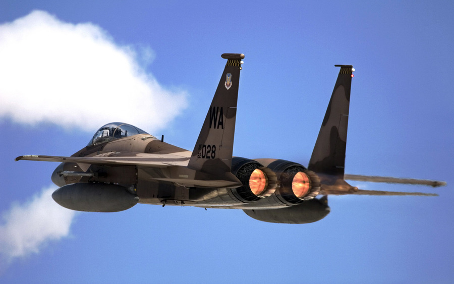 F 15 Eagle From Nellis Air Force Base