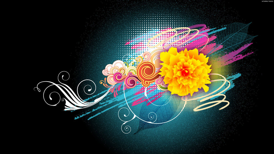 Flower Vector Designs