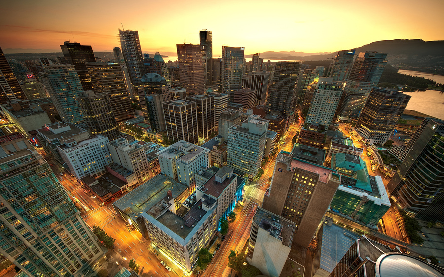 Vancouver Sunset Canada