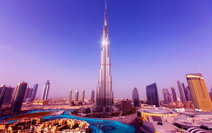 Worlds Tallest Tower Burj Khalifa