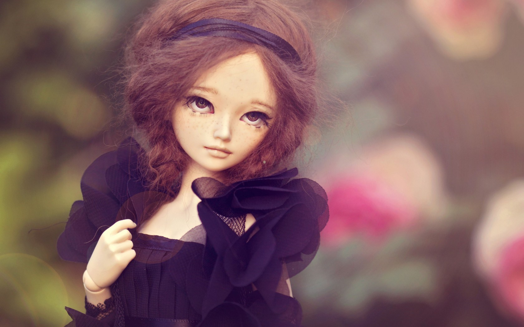 Beautiful Doll Wallpaper High Definition High Quality Widescreen