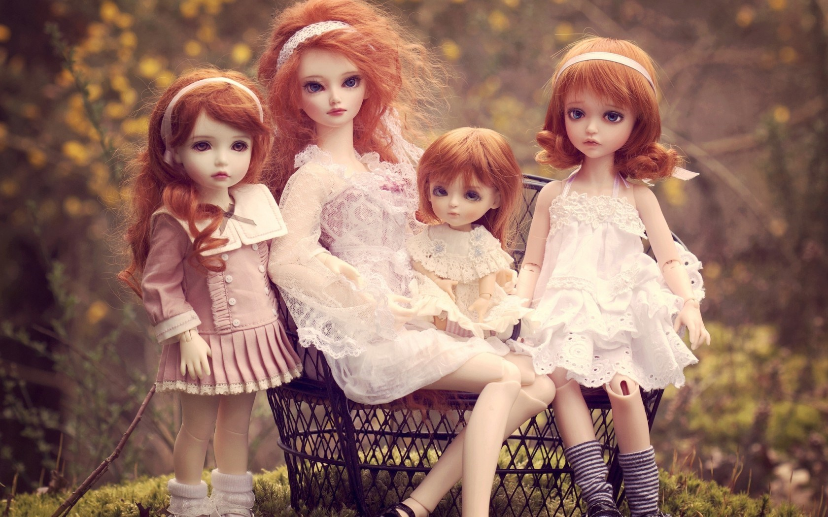Beautiful Dolls Picture
