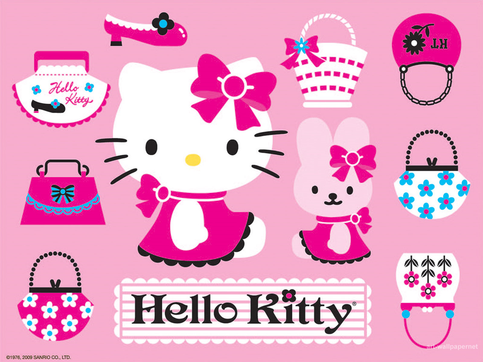 Best Wallpaper Hello Kitty High Definition - kitty-pink_034700  Picture_74576.jpg