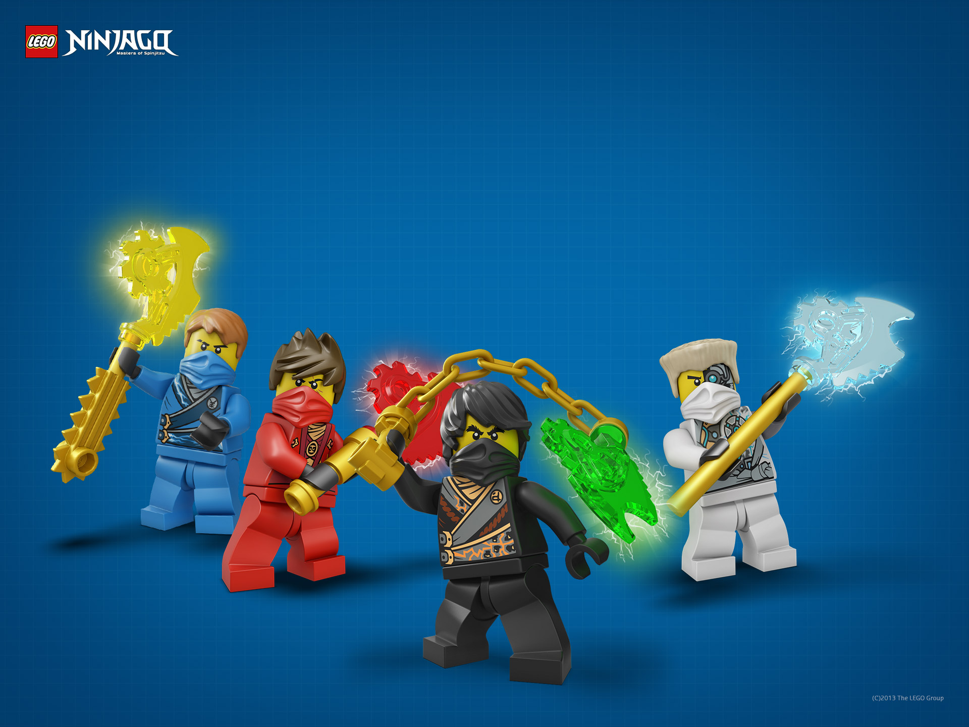 Lego Ninjago Characters - Wallpaper, High Definition, High ...