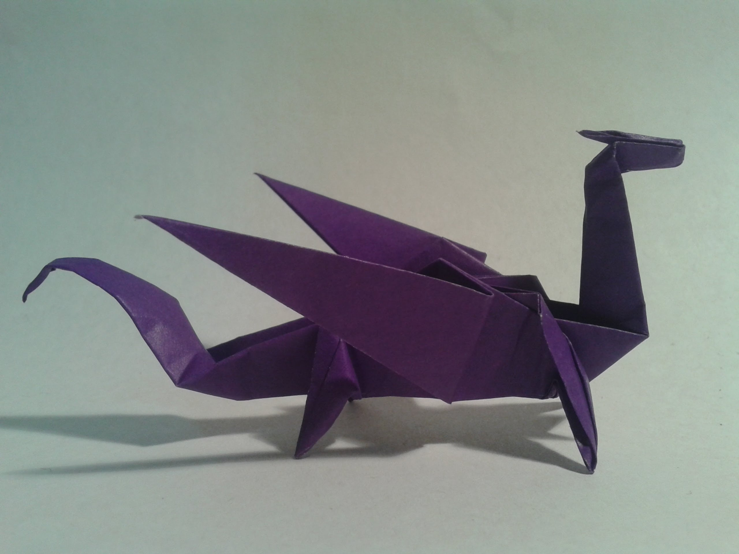 Origami Dragon - Wallpaper, High Definition, High Quality ... - photo#17