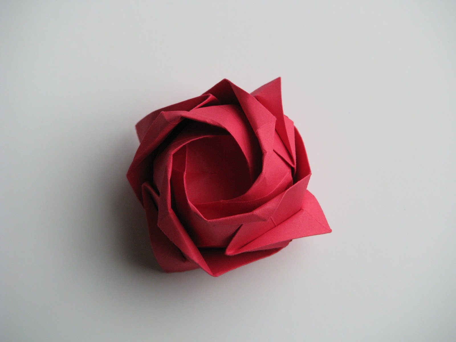 Origami Rose Wallpaper High Definition High Quality Widescreen