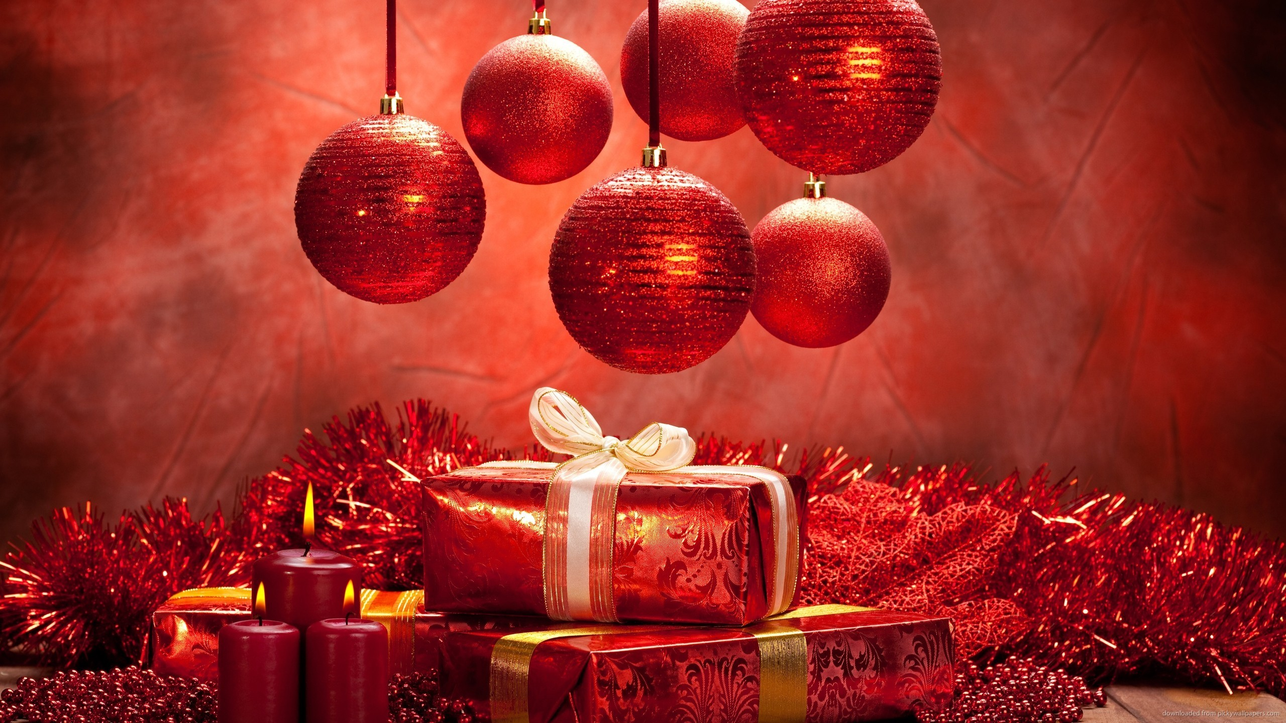 christmas gifts free wallpaper
