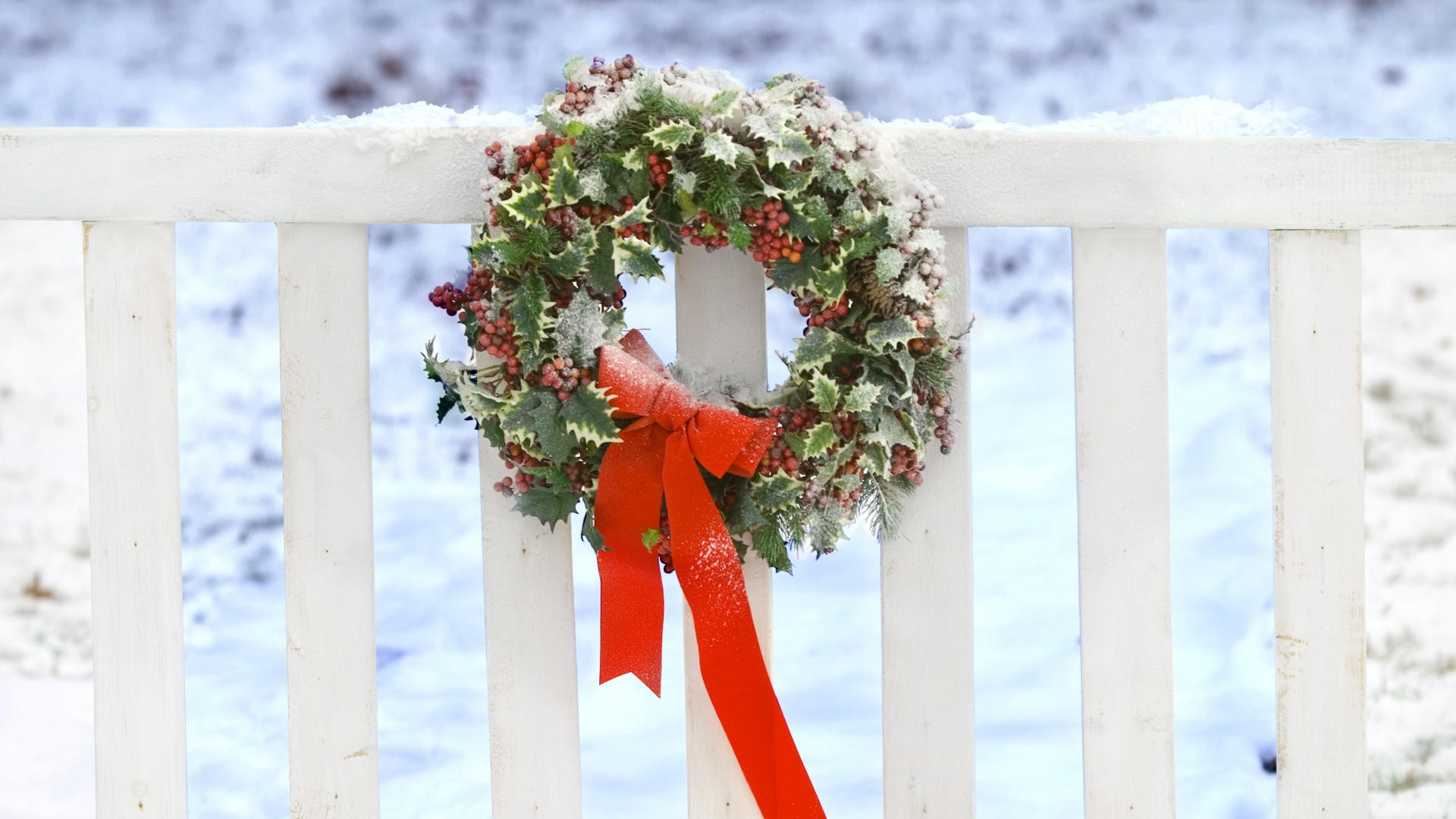 Christmas Wreaths HD - Wallpaper, High Definition, High ...