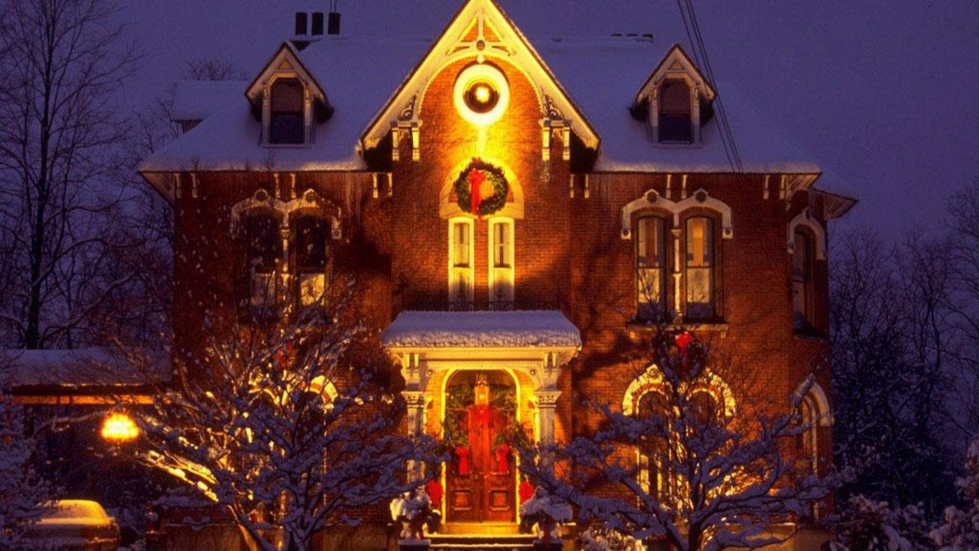 Outdoor christmas decorations hd wallpaper high for Quality outdoor christmas decorations