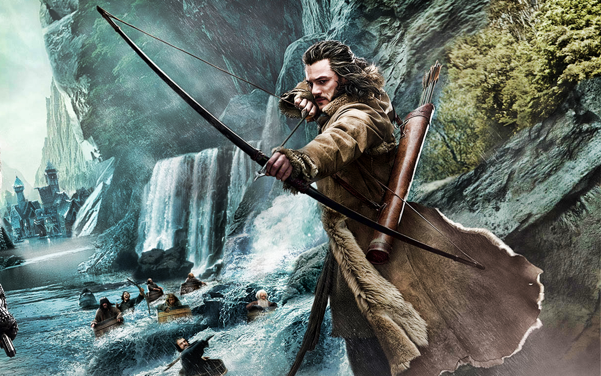 The Hobbit Desolation Of Smaug 2013 Backgrounds