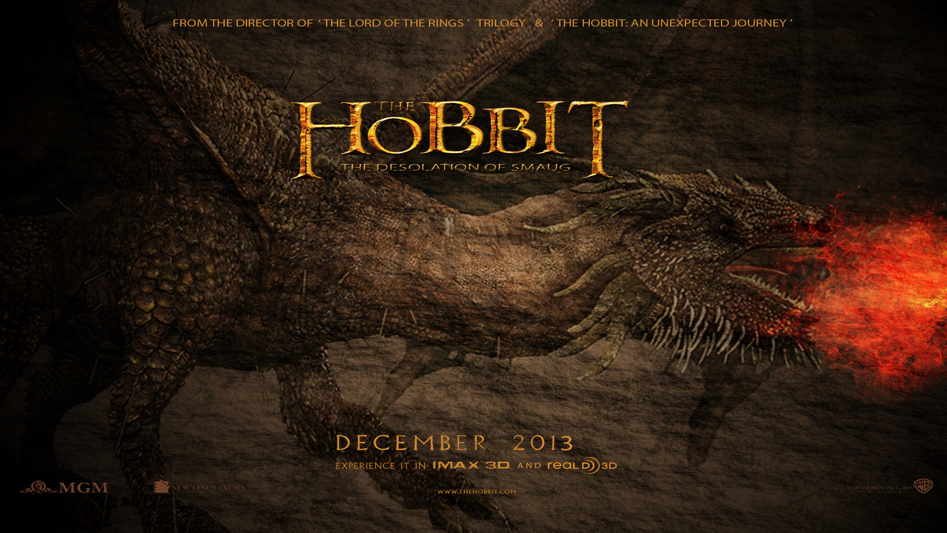 The Hobbit Desolation Of Smaug 2013 Wallpaper
