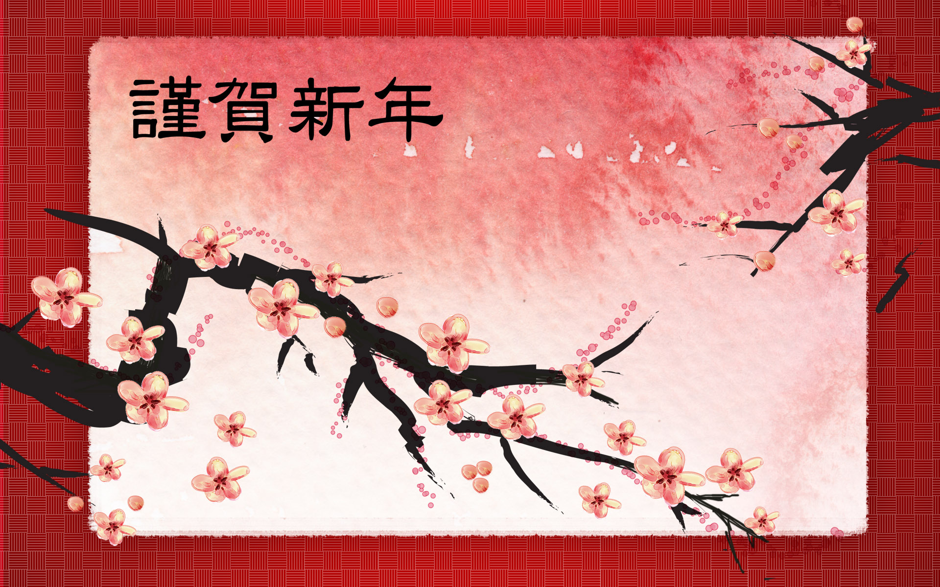 chinese new year 2014 free wallpaper