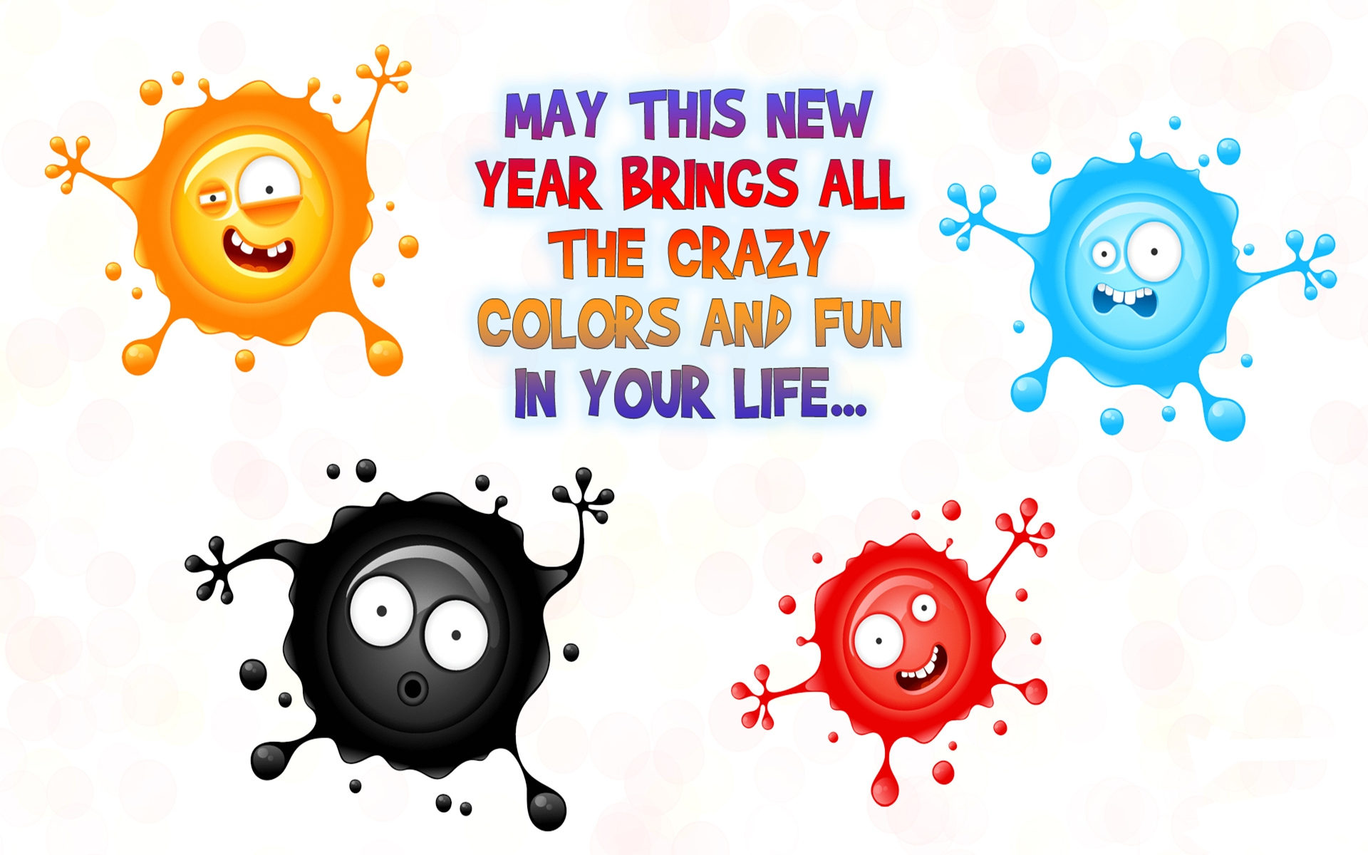 Happy New Year Wishes - Wallpaper, High Definition, High Quality ...