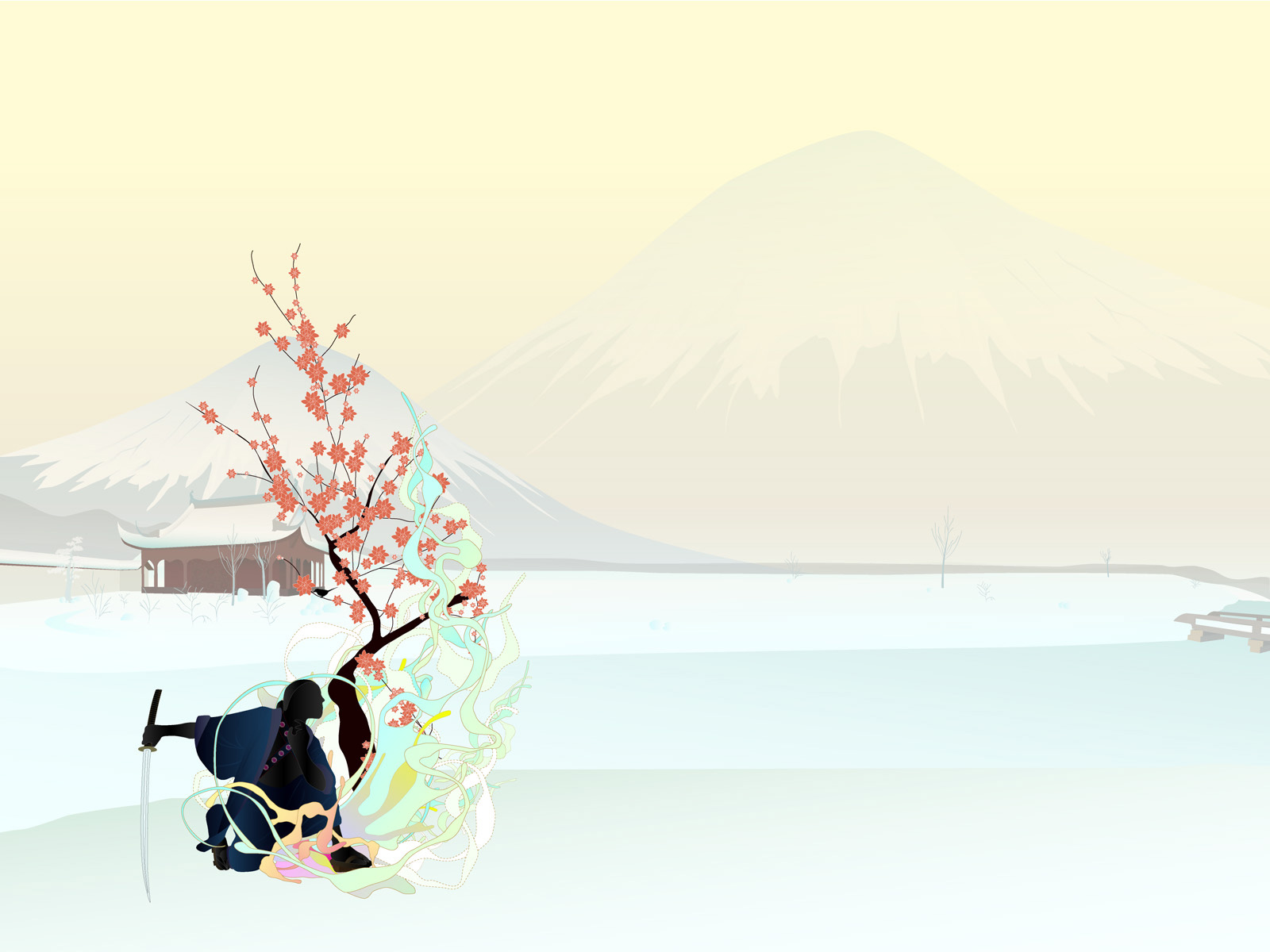japanese new year backgrounds