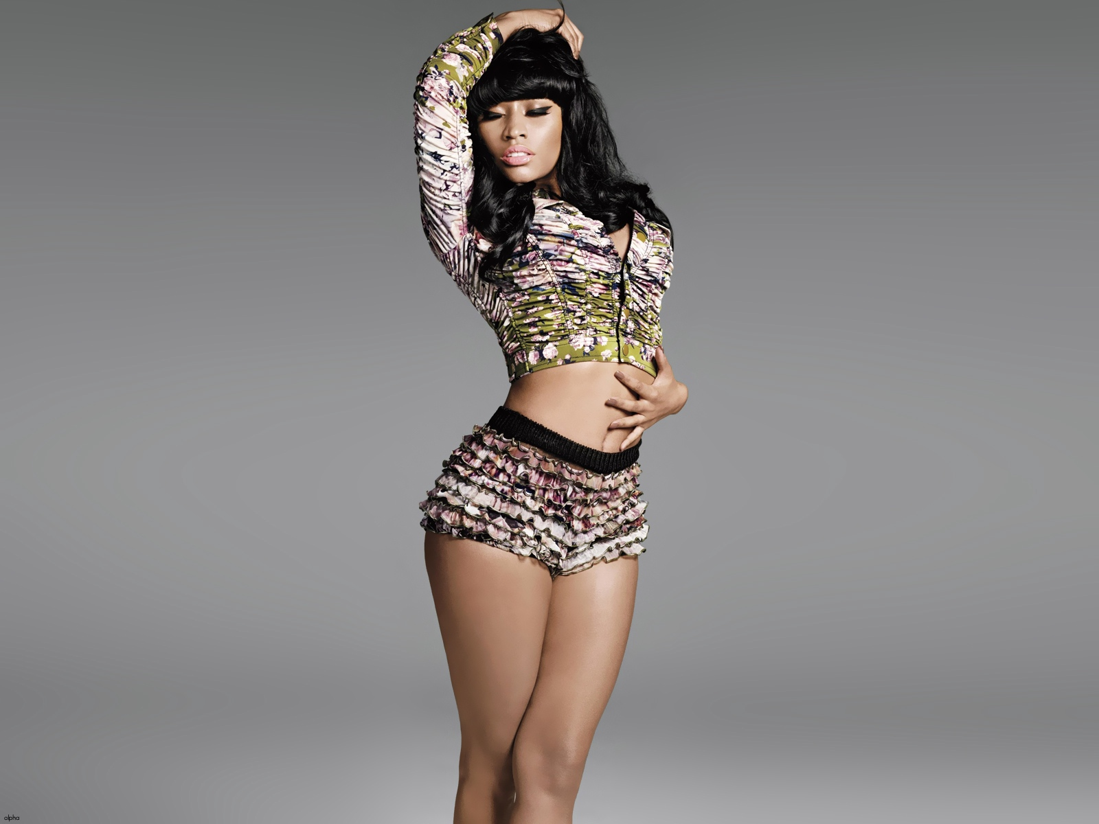 sexy nicki minaj   wallpaper high definition high