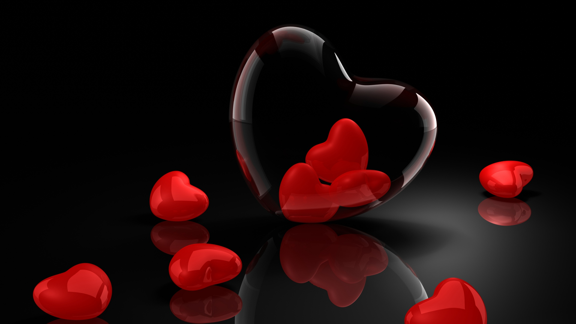 Valentines Day 3d Background Wallpaper High Definition High