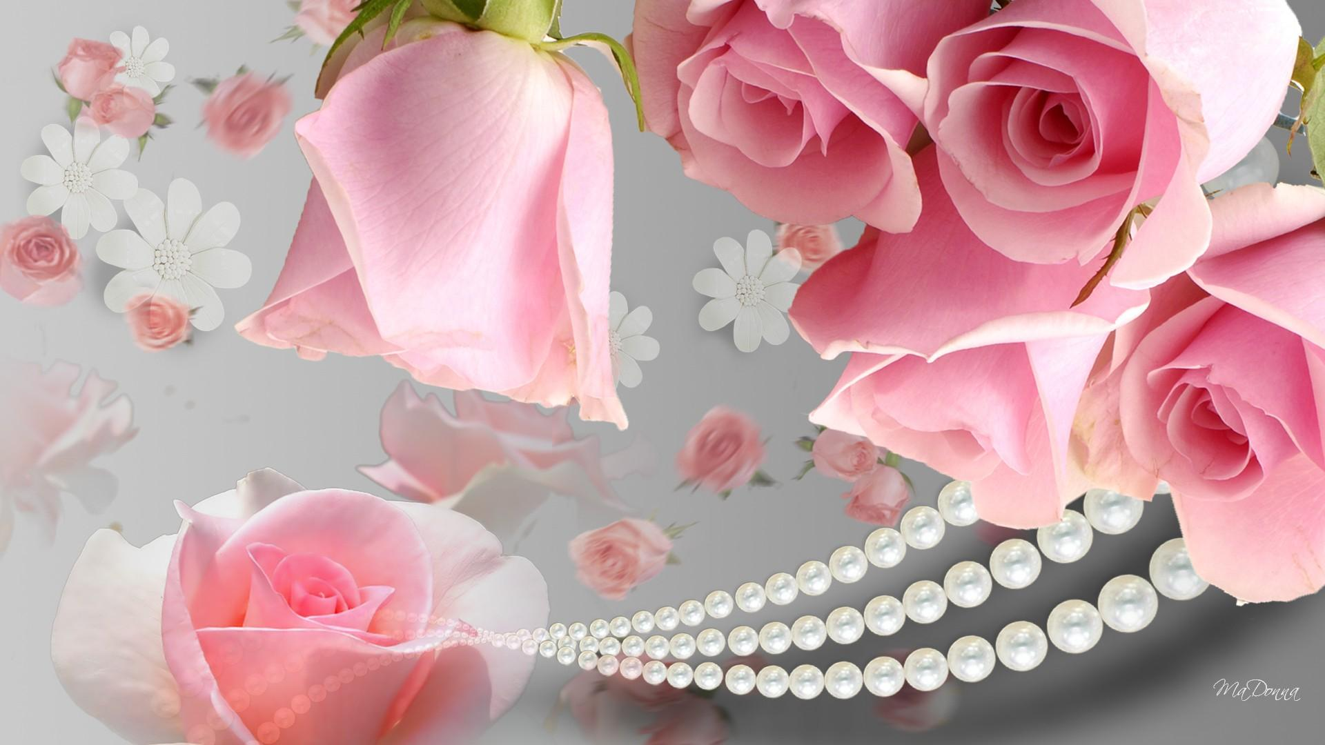 roses and pearls - photo #21