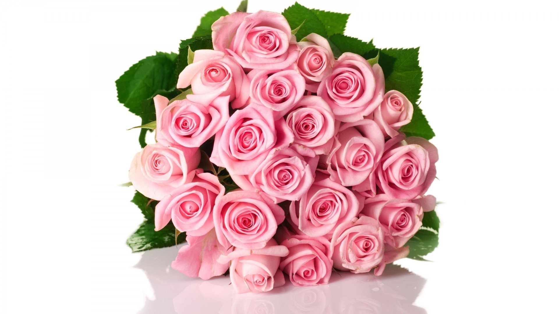 Pink Roses Bouquet - Wallpaper, High Definition, High Quality ...