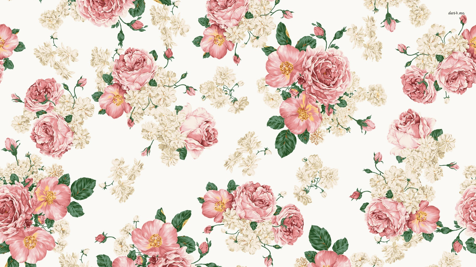 Vintage Roses - Wallpaper, High Definition, High Quality ...