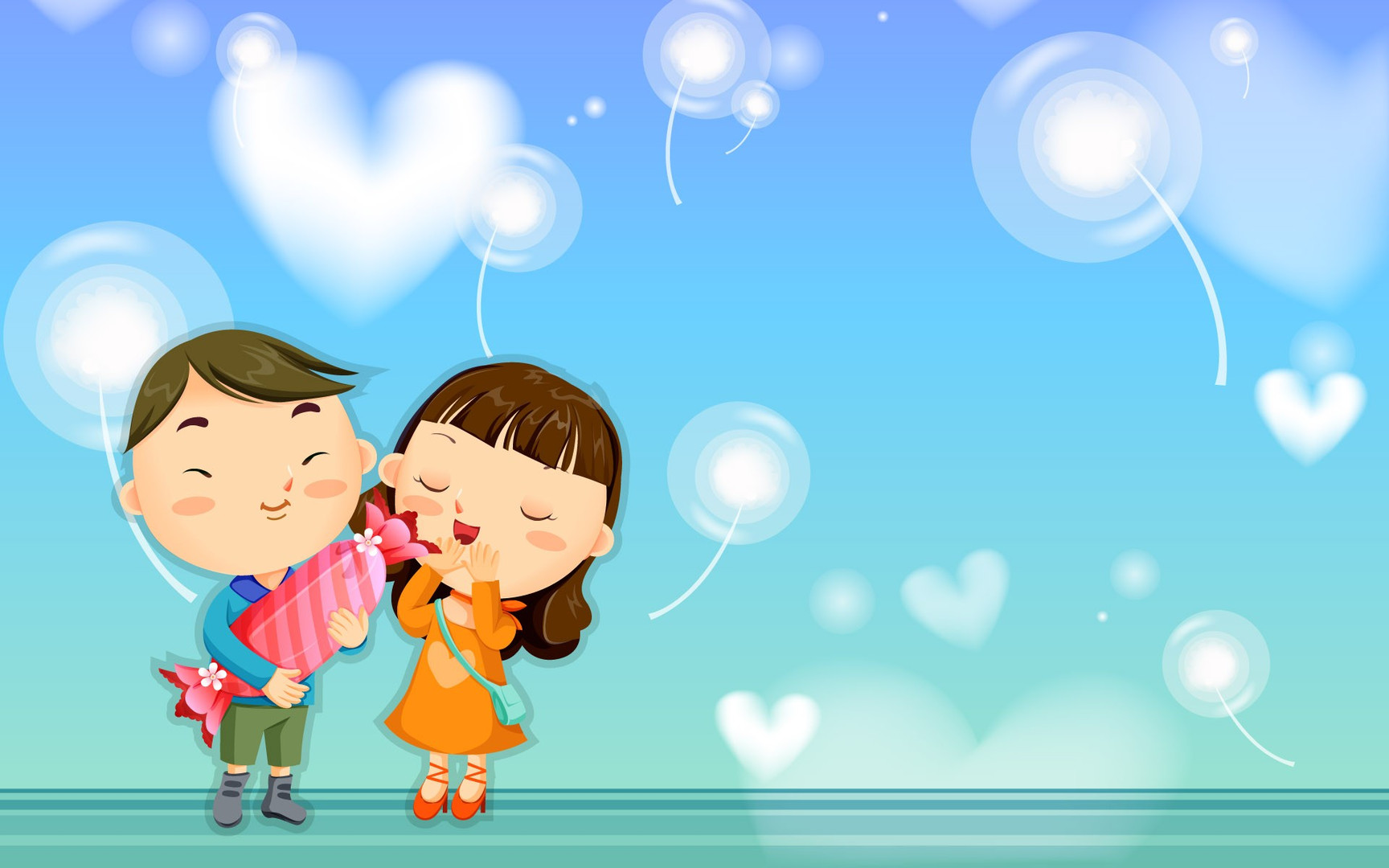 Love Wallpaper For cartoon : cartoon Love Wallpapers - Wallpaper, High Definition, High Quality, Widescreen