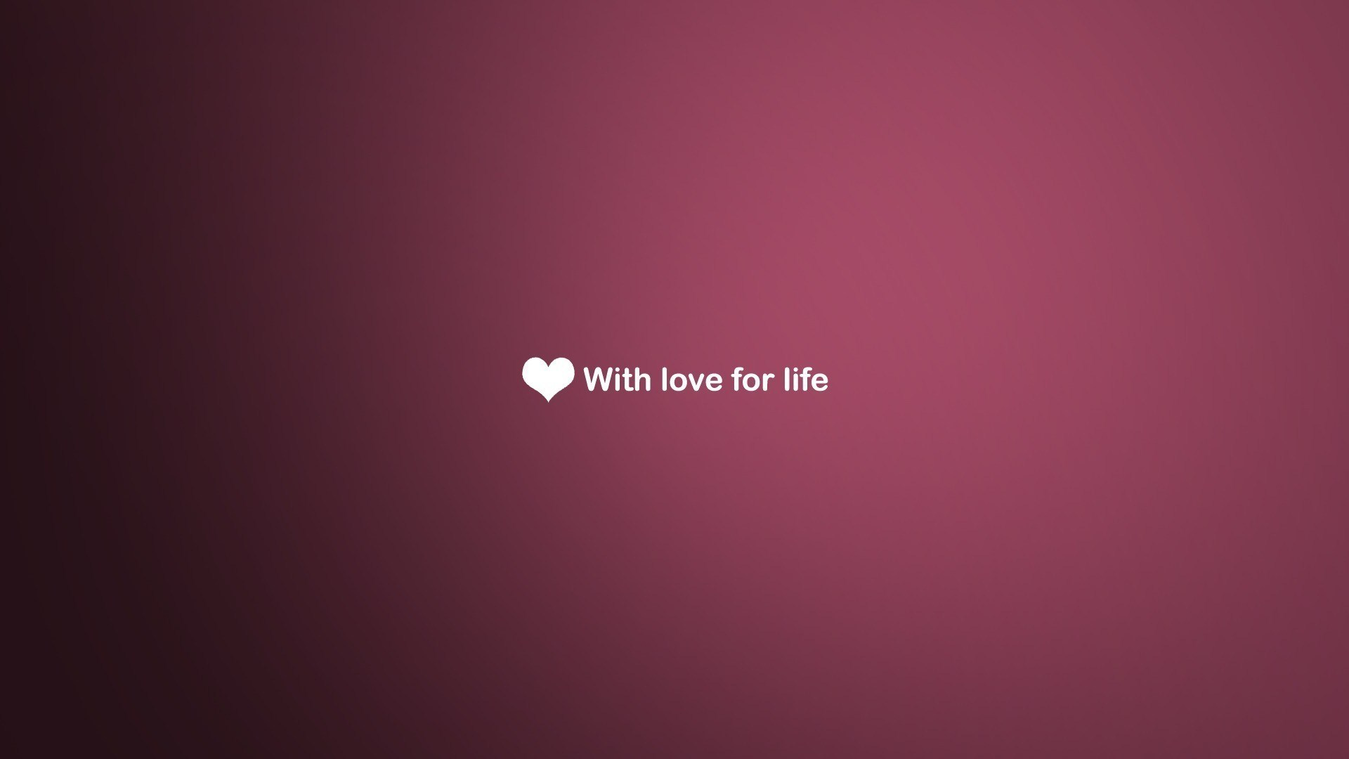 love life - wallpaper, high definition, high quality, widescreen