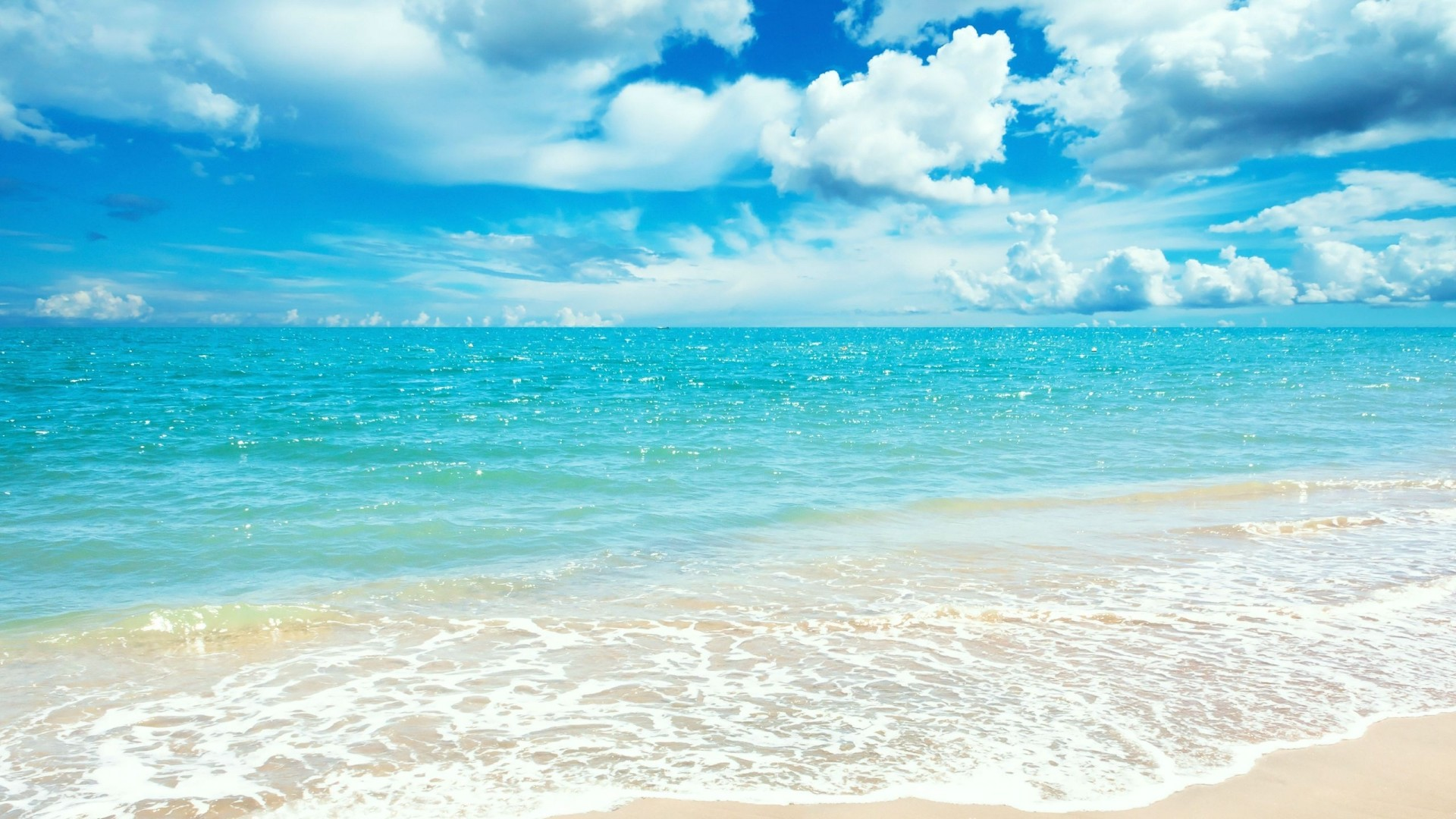 Summer Beach - Wallpaper, High Definition, High Quality ...