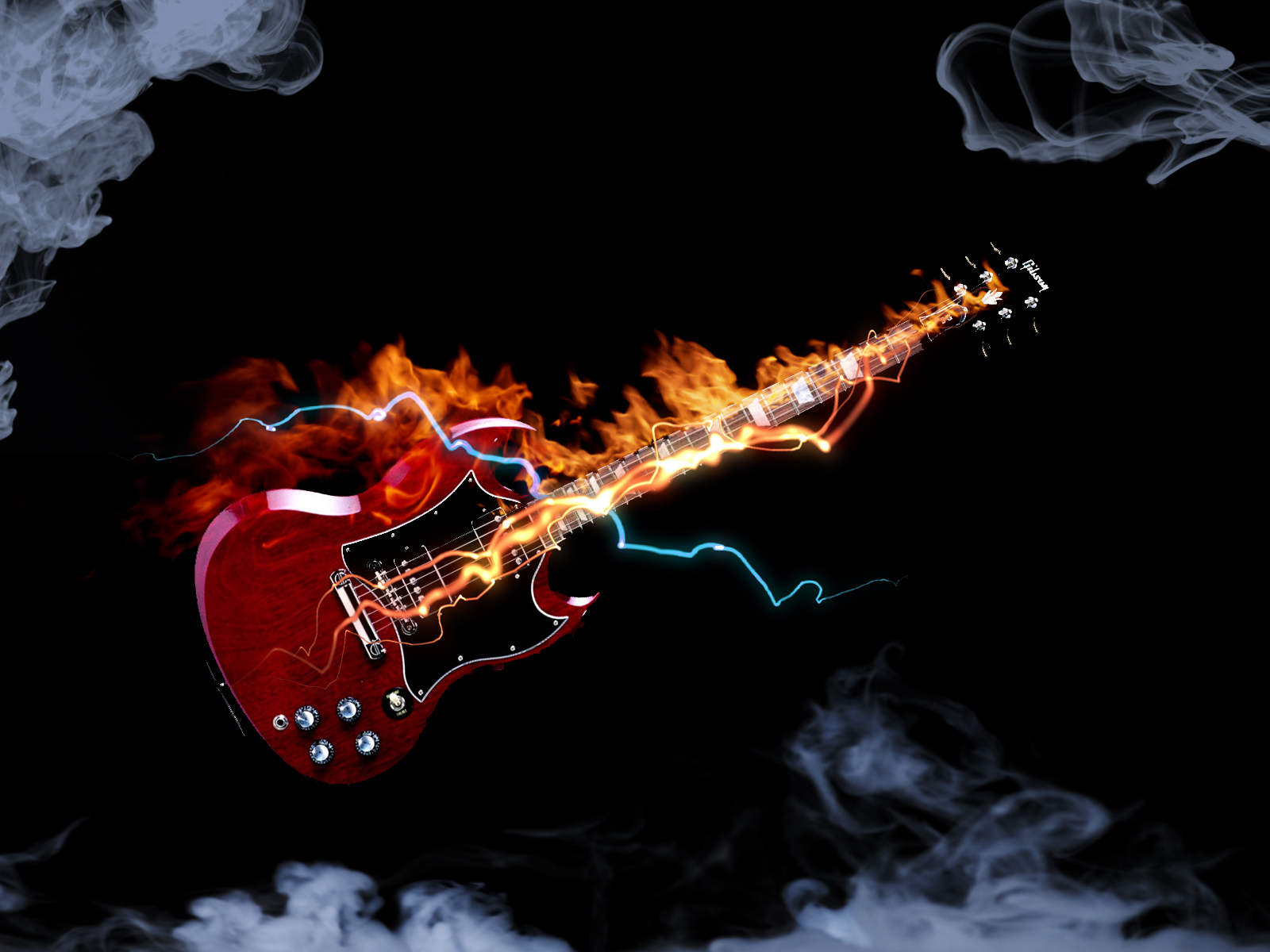 electric guitar wallpapers wallpaper - photo #16