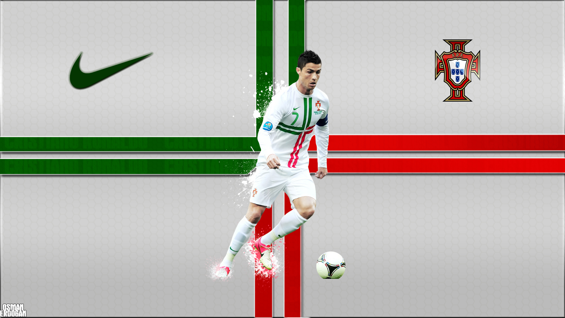 Cristiano Ronaldo Portugal Hd Wallpapers Desktop And: Wallpaper, High Definition, High
