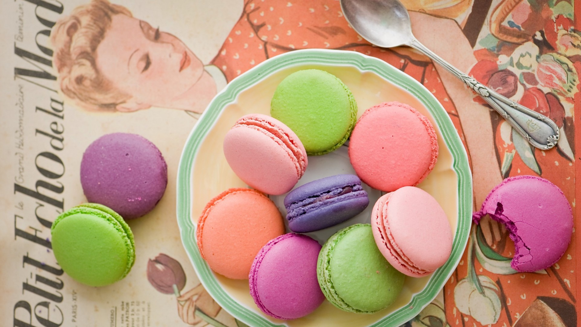 Macarons Wallpapers - Wallpaper, High Definition, High Quality ...