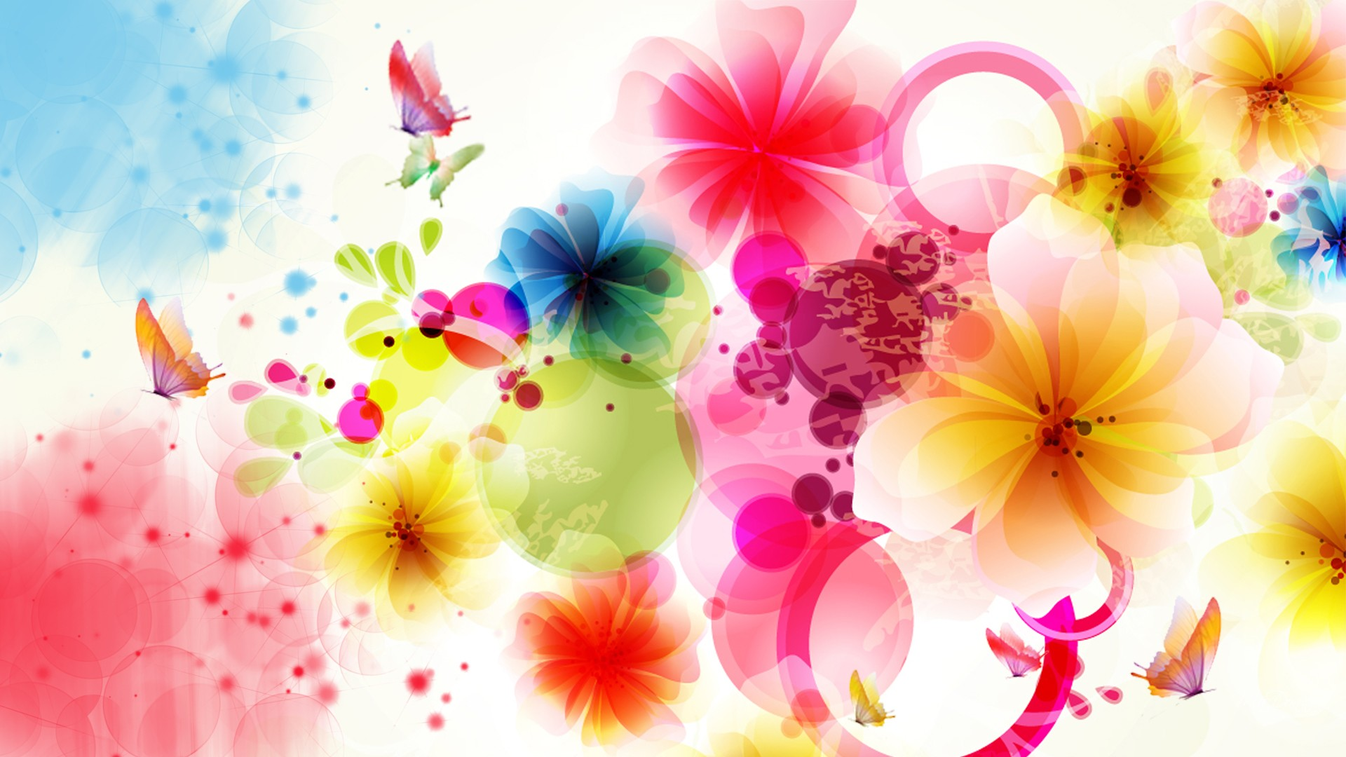 abstract flower wallpaper high definition high quality