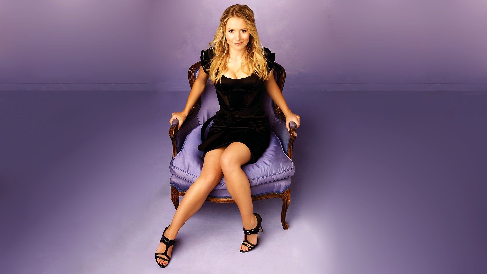 Kristen Bell Hd Wallpaper Photos Widescreen Wallpapers Pictures To Pin On Pinterest