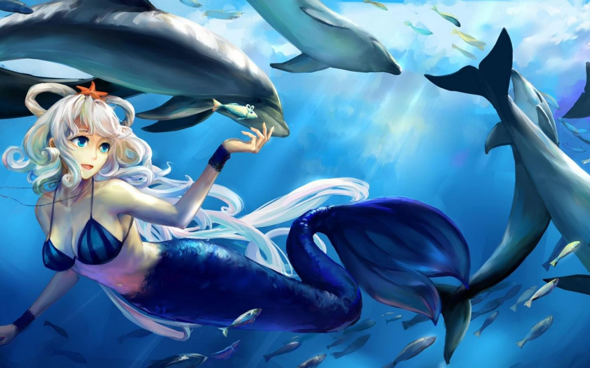 wallpaper beautiful mermaid pictures - photo #45