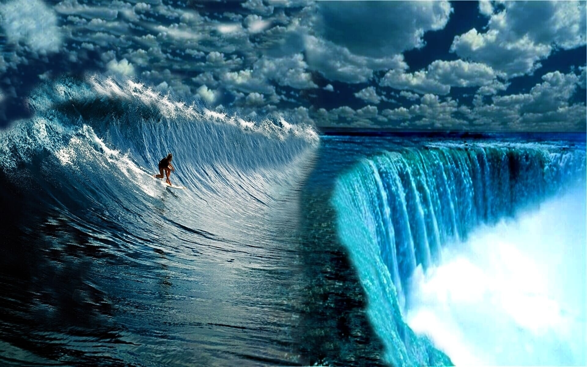 Surfing Wide Wallpapers