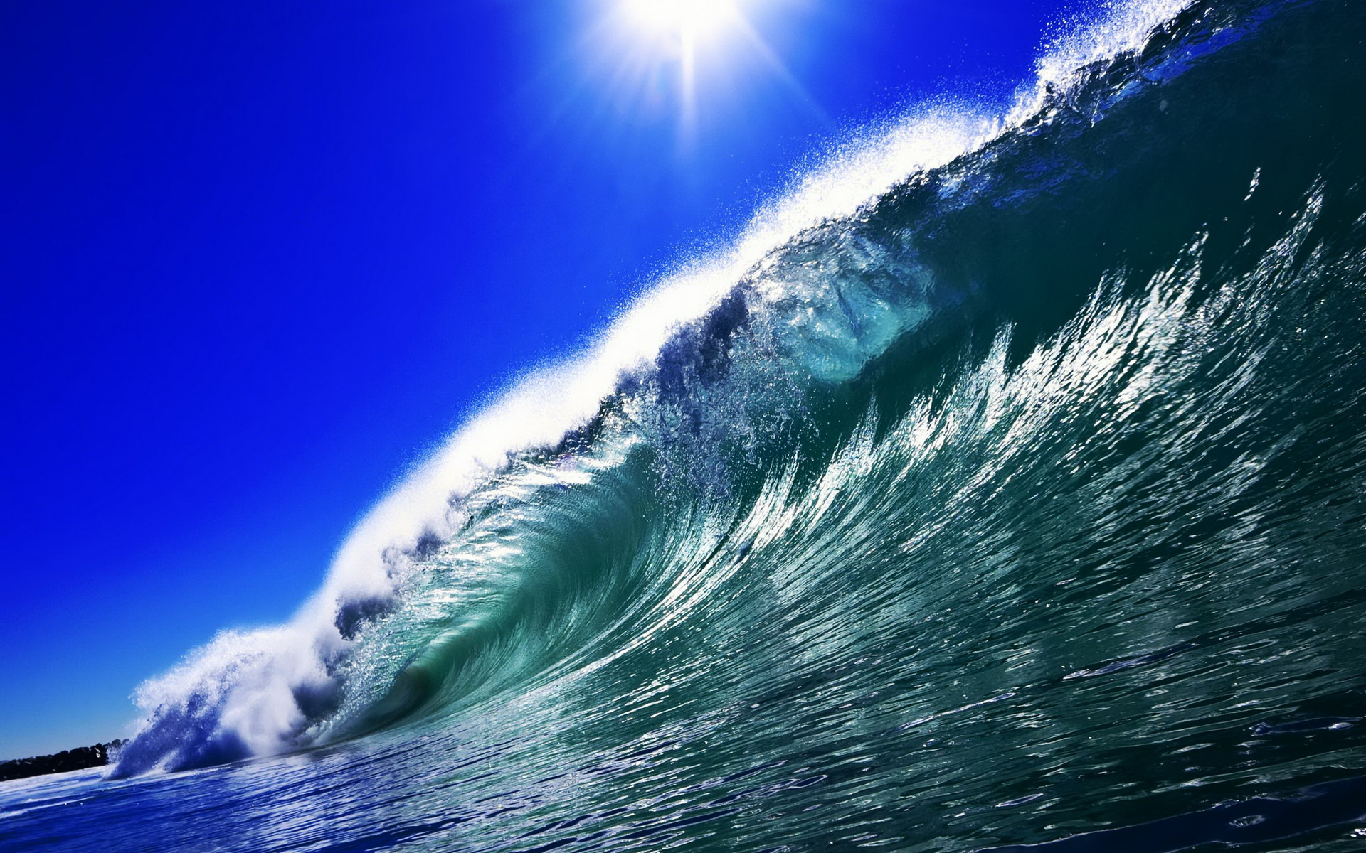 wave wallpaper high definition high quality widescreen