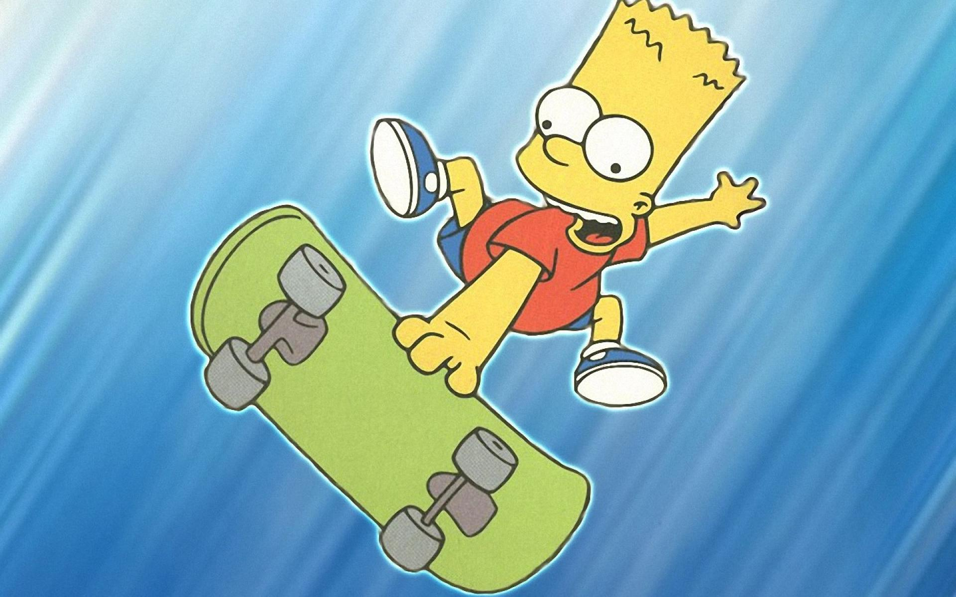 pics photos bart simpson wallpapers free