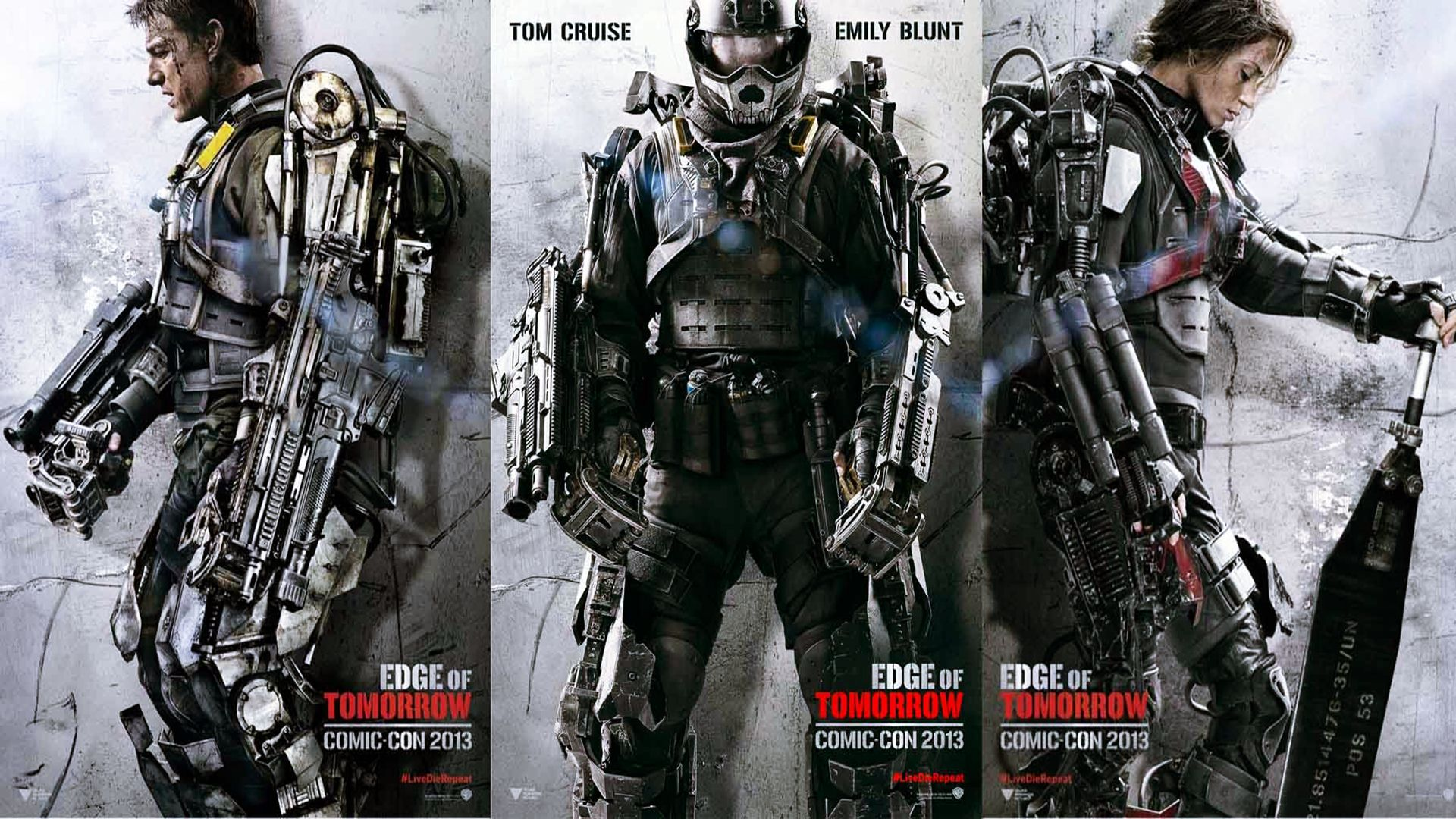 Edge Of Tomorrow 2014 Poster Wallpaper High Definition High Quality Widescreen