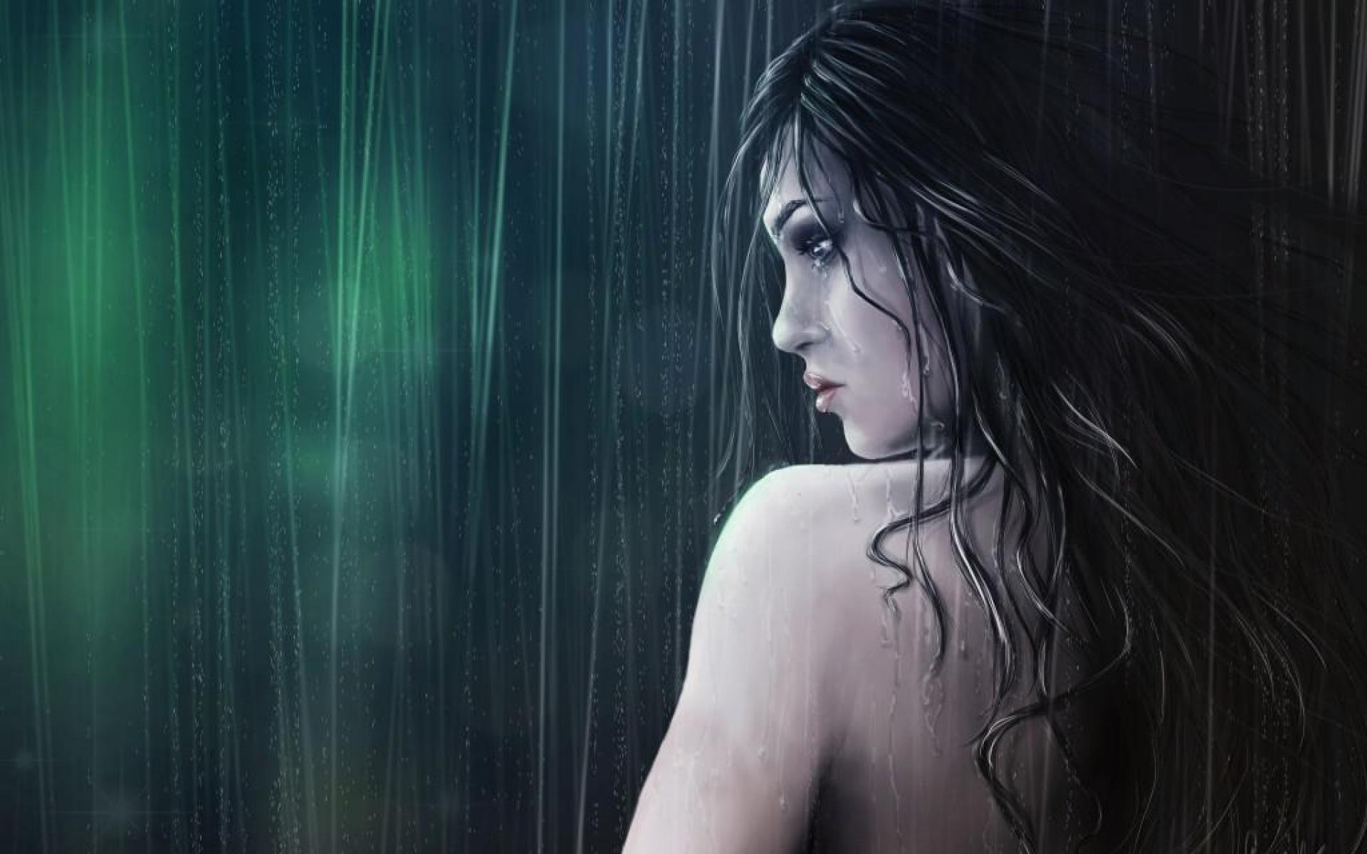 Cry in Rain - Wallpaper, High Definition, High Quality ...