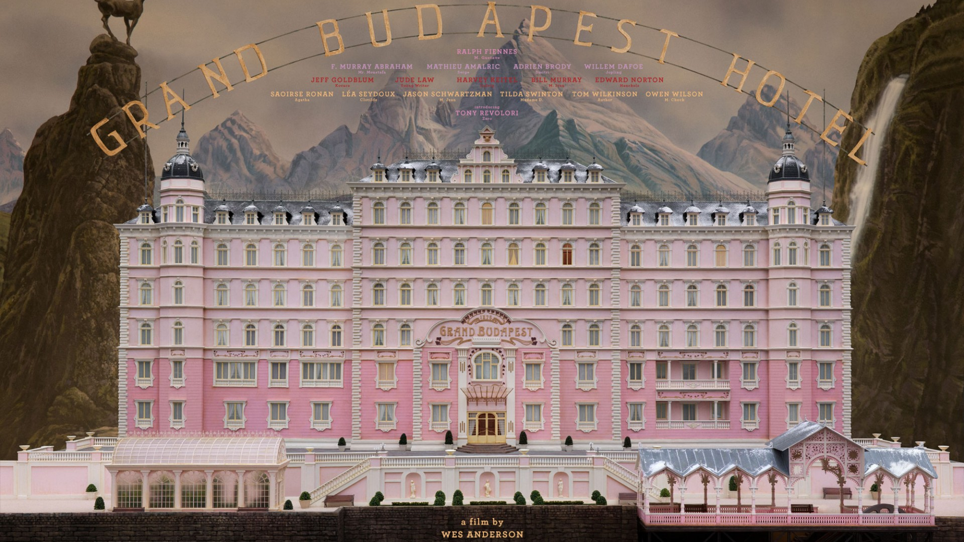 The Grand Budapest Hotel (2014) - Wallpaper, High Definition, High ...